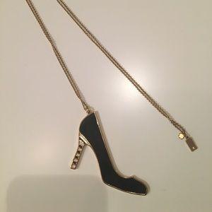 Kate Spade High Heel Pendant Necklace